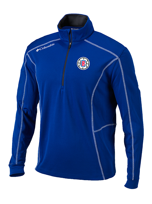 LA Clippers Youth Shotgun Quarter Zip - Royal