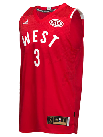 LA Clippers Chris Paul 2016 NBA All-Star Game Western Conference Swingman Jersey