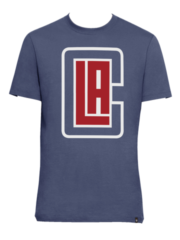 LA Clippers Crosstown Flanker Short Sleeve T-Shirt