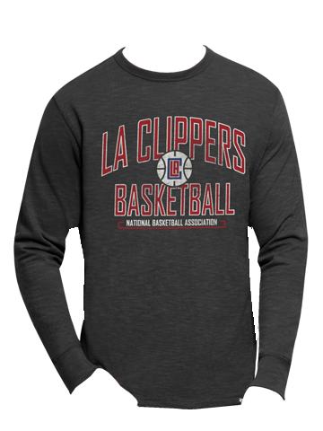 LA Clippers Long Sleeve Scrum T-Shirt