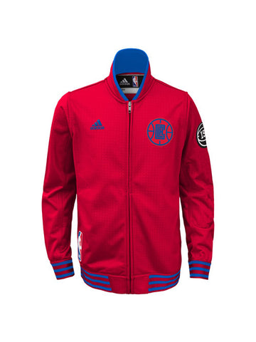 LA Clippers Youth On Court Full Zip Jacket