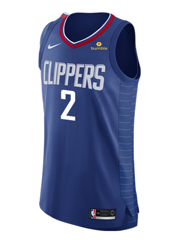 LA Clippers SHAI GILGEOUS-ALEXANDER Icon Authentic Jersey - Navy