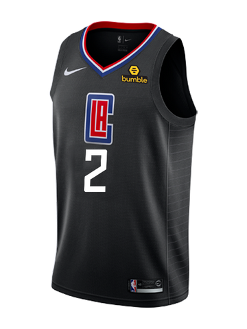 LA Clippers Shai Gilgeous-Alexander Statement Swingman Jersey - Black