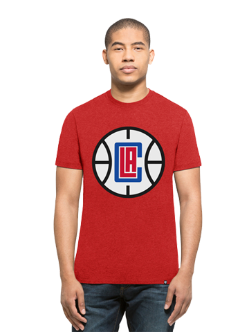 LA Clippers Club Ball Logo T-Shirt