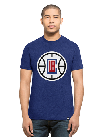 LA Clippers Blue Ball Logo T-Shirt