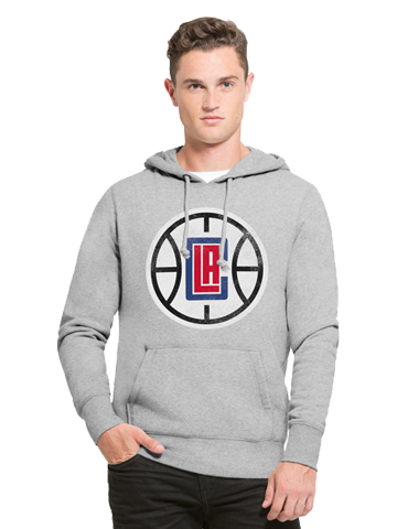 LA Clippers Ball Logo Pullover Hoodie
