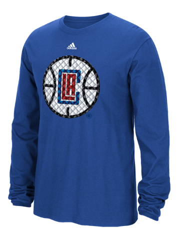 Los Angeles Clippers Tech Quilt Long Sleeve T-Shirt