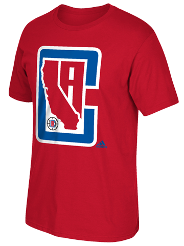 Los Angeles Clippers State Short Sleeve T-Shirt