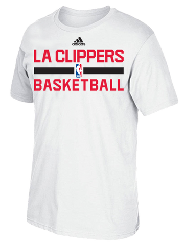 LA Clippers Authentic On Court Graphic Aeroknit T-Shirt