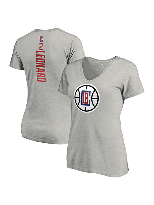 LA Clippers Women's Kawhi Leonard Vertical T-Shirt