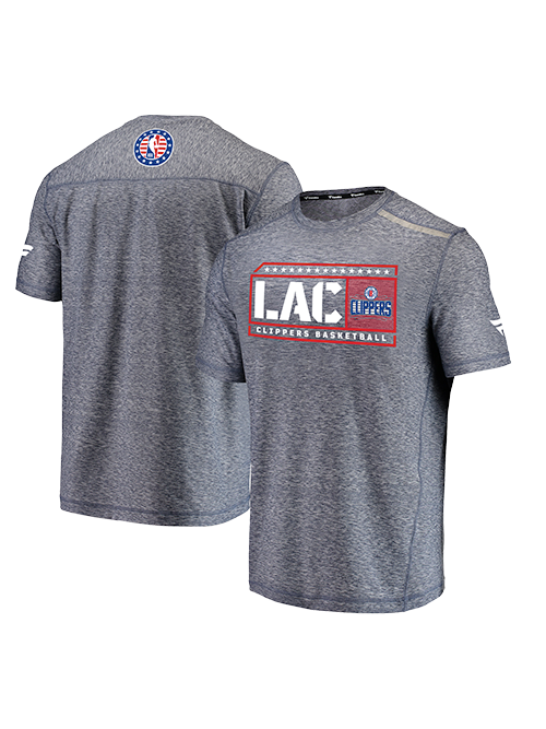 LA Clippers Hoops For Troops 2019 T-Shirt