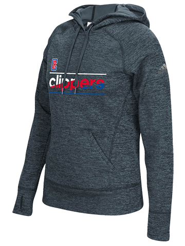 LA Clippers Women's Color Slant Hoodie