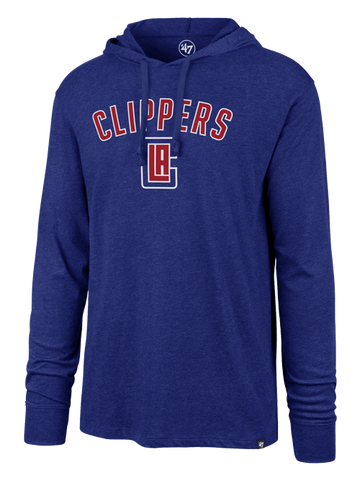 LA Clippers Focus Club Hoodie - Royal