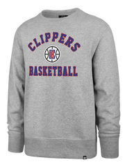 LA Clippers Varsity Arch Headline Crew Pullover