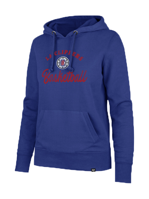 LA Clippers Women's Spirit Script Headline Hoody - Royal