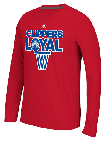 LA Clippers Team Loyal Long Sleeve T-Shirt
