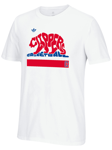 Los Angeles Clippers Clip the Bear Short Sleeve Tee
