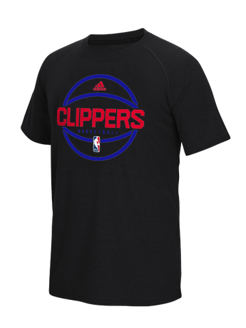 Los Angeles Clippers Authentic On Court Pre Game Graphic T-Shirt