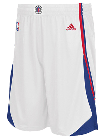 LA Clippers Home Swingman Shorts