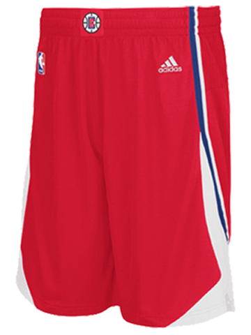 LA Clippers Youth Road Swingman Shorts