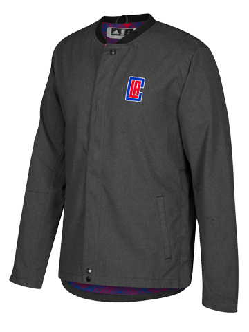 LA Clippers Button Down On Court Faster Jacket