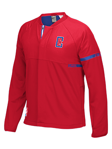 LA Clippers On Court Full Zip Jacket
