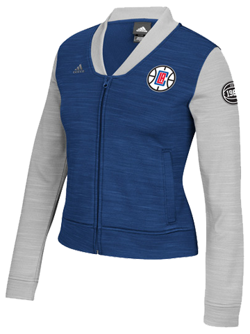 LA Clippers Women's On Court Track Jacket