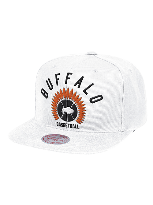 LA Clippers Classic Edition Buffalo Braves Arched Snapback Cap