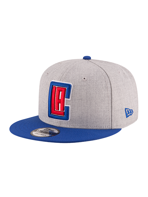 Los Angeles Clippers 9FIFTY 2Tone Snapback Cap - Grey/Royal