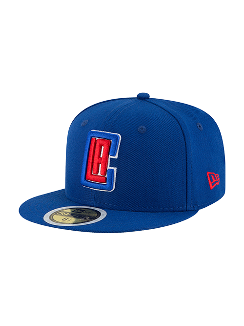 LA Clippers Kids 59FIFTY Royal Fitted Cap - Royal