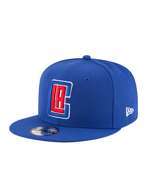 LA Clippers 9FIFTY Basic Snapback Cap - Royal