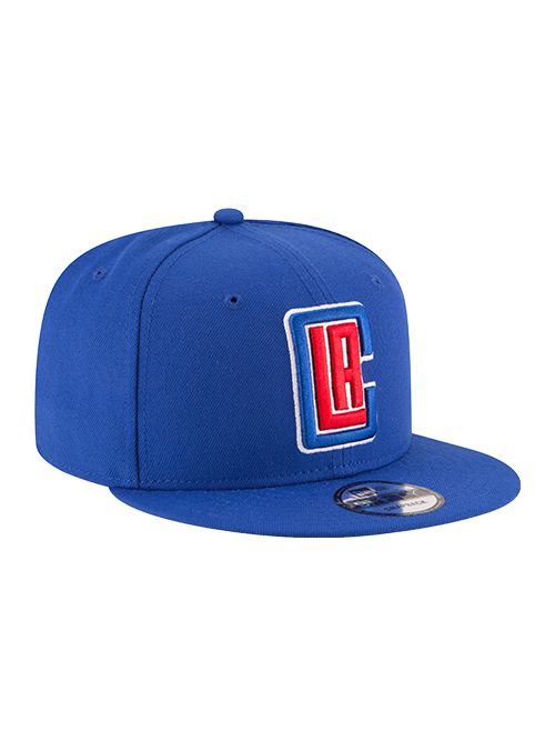 Los Angeles Clippers 9FIFTY Basic Snapback Cap - Royal