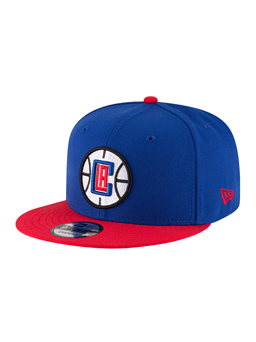 Los Angeles Clippers 9FIFTY 2Tone Primary Logo Snapback Cap - Royal/Red