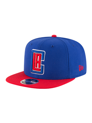 LA Clippers 9FIFTY Of 2-Tone Royal Red Snapback Cap - Royal/Red
