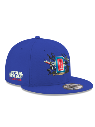 LA Clippers 9FIFTY Star Wars Rogue One Battle Adjustable Hat