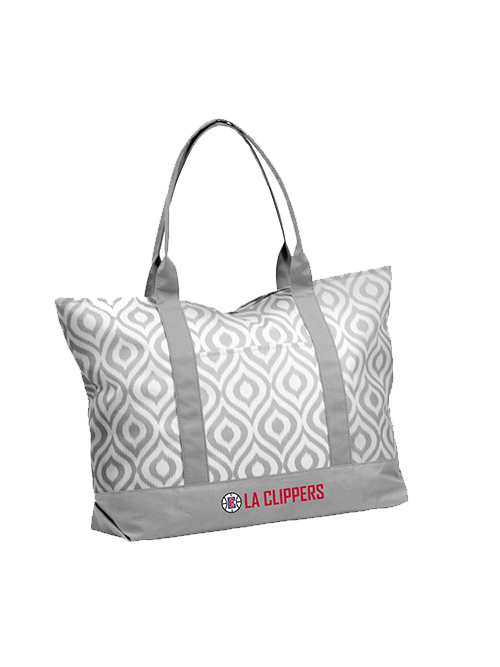 LA Clippers Ikat Tote Bag