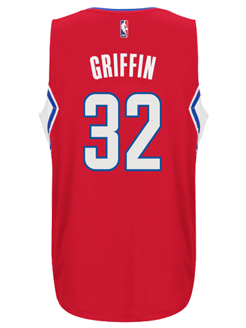 LA Clippers Blake Griffin Road Swingman Jersey