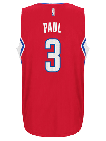 LA Clippers Chris Paul Road Swingman Jersey