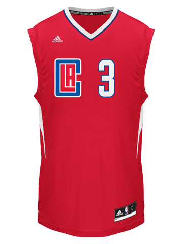 LA Clippers Chris Paul Road Replica Jersey