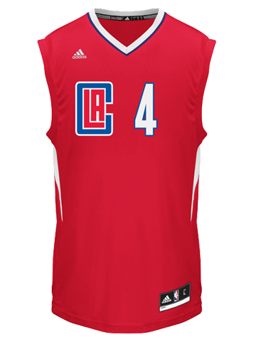 LA Clippers J.J Redick Road Replica Jersey