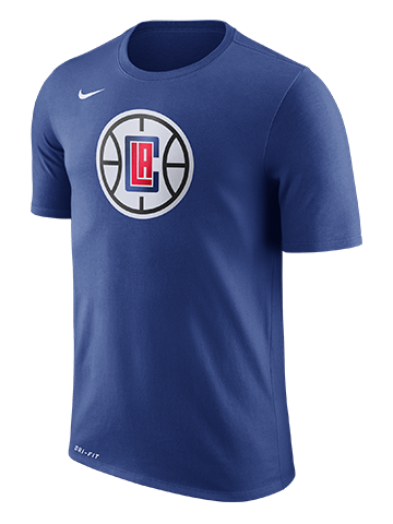 LA Clippers Logo Short Sleeve T-Shirt