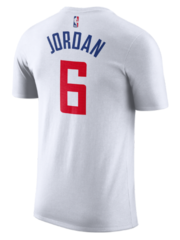 LA Clippers DeAndre Jordan Authentic Association Player T-Shirt