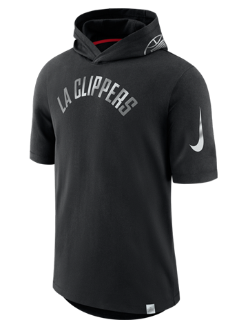 LA Clippers Hooded T-Shirt