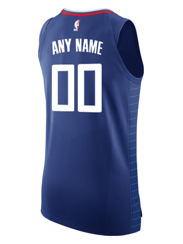 LA Clippers Custom Icon Authentic Jersey
