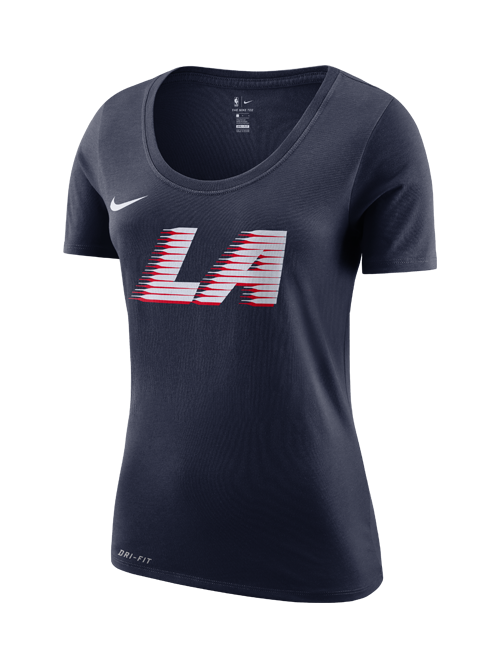 LA Clippers City Edition Women's Dri Fit Logo T-Shirt