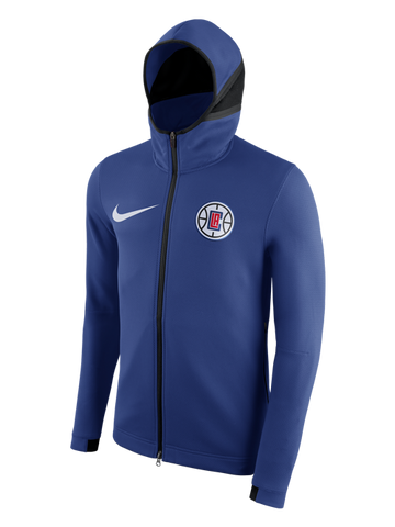 LA Clippers Therma Flex Showtime HD Full Zip Jacket - Rush Blue