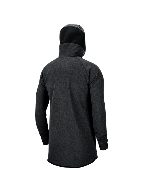 LA Clippers Dry Hoodie Showtime Full Zip - Black