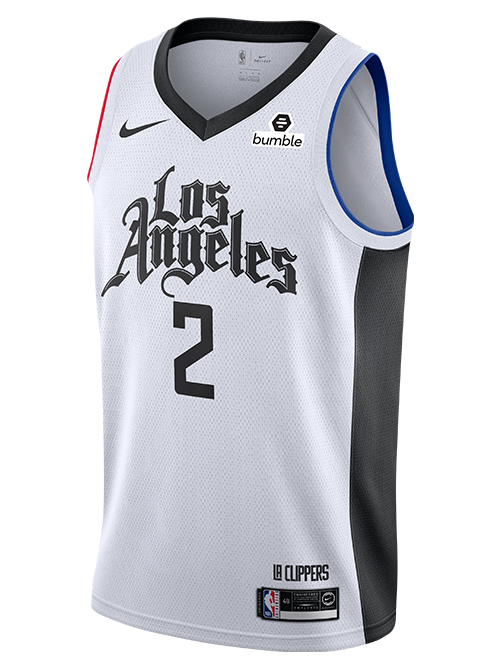 LA Clippers Kawhi Leonard City Edition Swingman Jersey