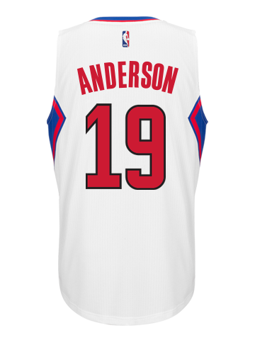 Los Angeles Clippers Alan Anderson Home Swingman Jersey