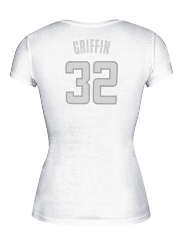 LA Clippers Women's Blake Griffin Silver Lining Cap Sleeve T-Shirt